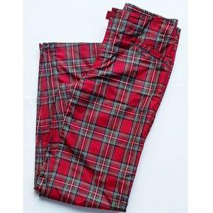 Ralph Lauren Red Plaid Pants, size 10